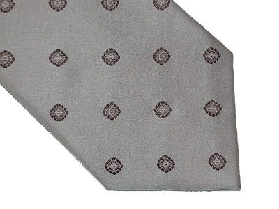 BCBG Maxazria Silk Tie - Pale Pink/Misty Rose, Brown