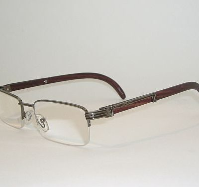 Reading Glasses 2.75 - Half Frame Silver Deep Brown