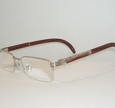 Reading Glasses 2.25 - Half Frame Silver Brown