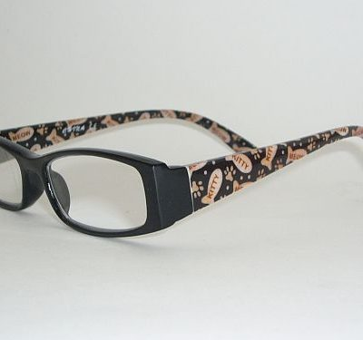 Reading Glasses 1.25 w/Case - Kitty Meow Readers