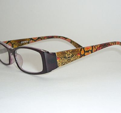 Reading Glasses 1.25 w/Case - Multi Color Readers