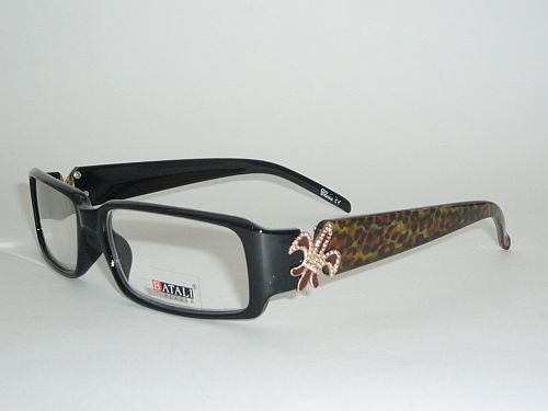 Reading Glasses 1.50 - Cheetah Black Frame Readers
