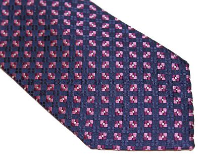 Kenneth Cole Reaction Tie - Blue Pink