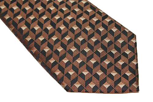 Sean John Tie - Brown Black
