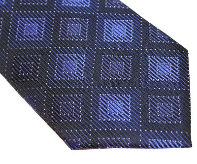 Michael Kors Tie - Black Blue
