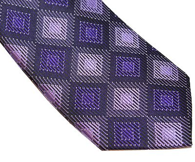 Michael Kors Tie - Black Purple