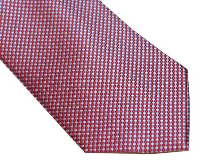 Michael Kors Tie - Microdots Red White Blue