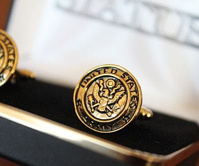 United States Army Cuff Links