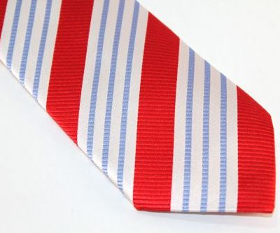 Lanae Joy Extra long Ties Red White Blue Presidential Election