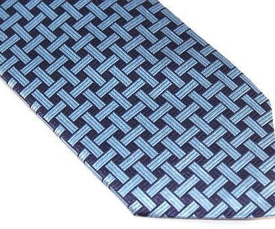 Lanae Joy Extra Long Tie Blue Navy