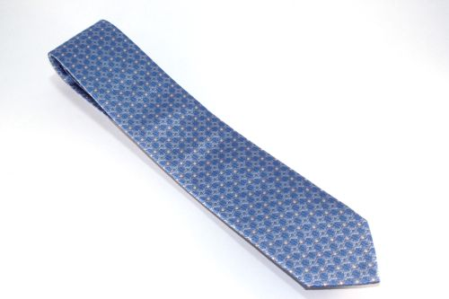 Lanae Joy tie gray silver sky blue
