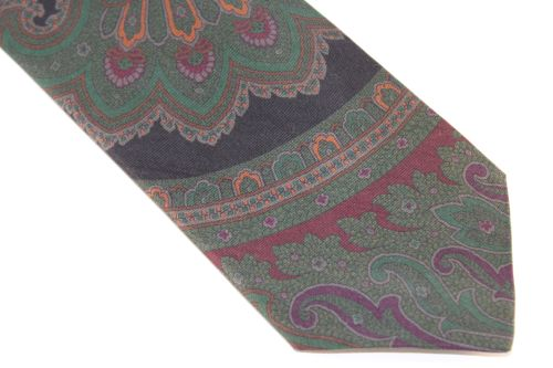 Lanae Joy Extra Long Tie Paisley