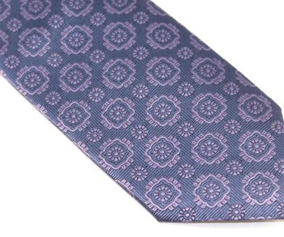 Lanae Joy Extra Long Tie blue lavender
