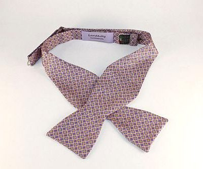 Lanae Joy Bow Tie Pink , Purple, Yellow, Orange / Peach