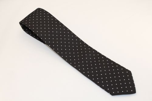 Ted Baker London Tie Black White Polka Dots