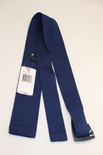 Ted Baker London Knit Tie Navy Blue