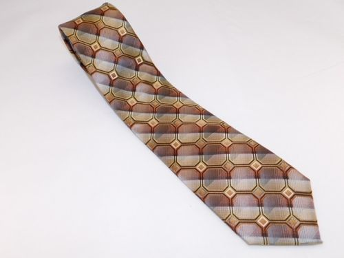 Bocara Tie - Brown Tan Copper